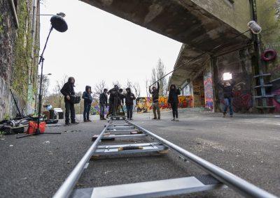 Alain Delange Photographe de plateau et back stage Paris France Court metrage - Les freres Safidine -9